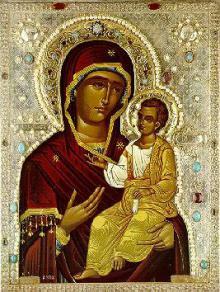 24 ноября - праздник в честь Монреальской Иверской иконы Божией Матери